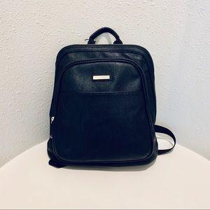 Calvin Klein Medium Vegan Leather Backpack/NWT